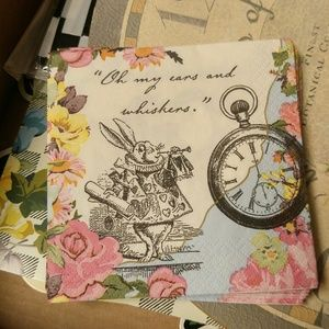 Mad Tea Party Wonderland party kit